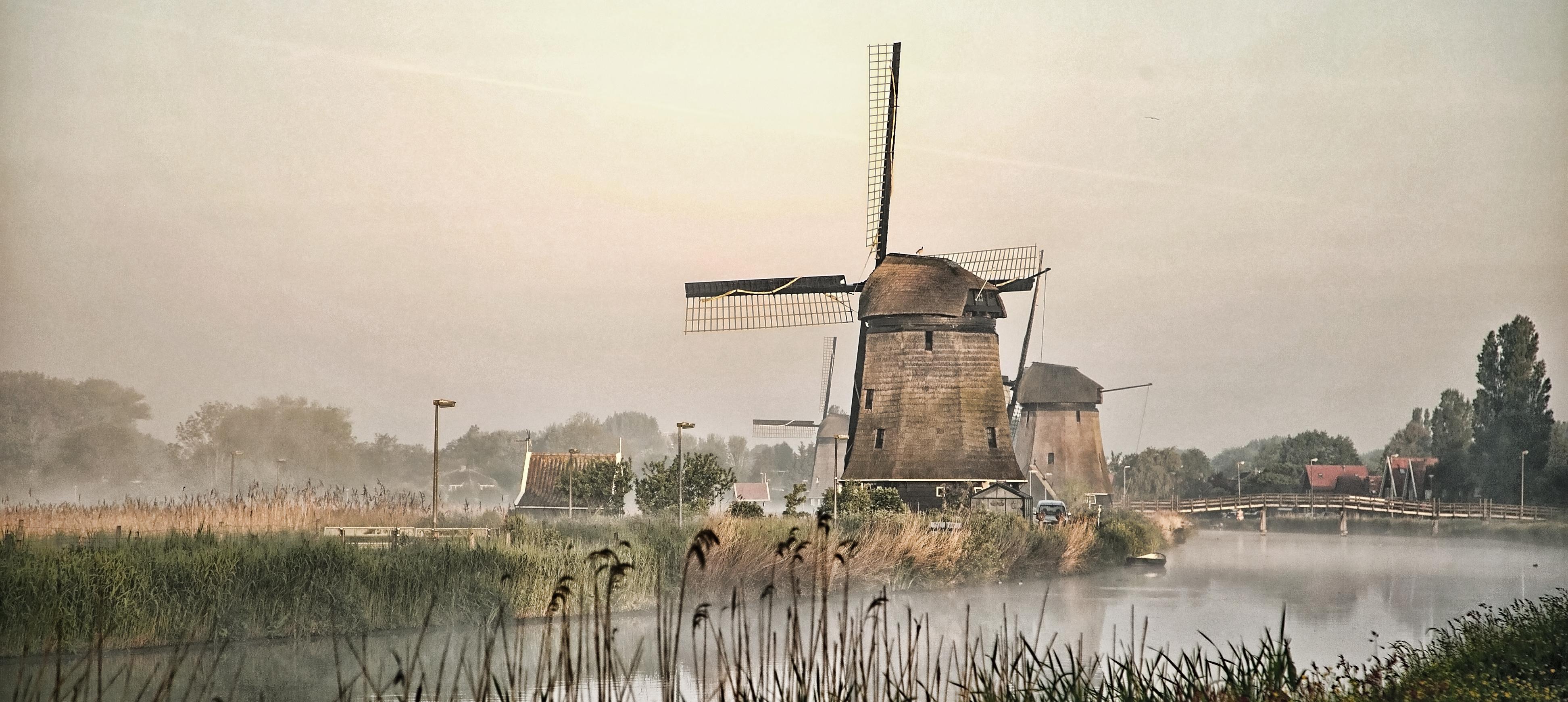 Molenkade Alkmaar - Mist